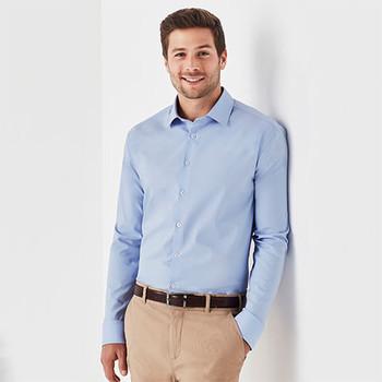 RS969ML Mens Charlie Slim Fit L/S Shirt - Biz Corporates