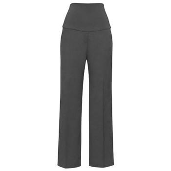 Charcoal - 10100 Womens Maternity Pant - Biz Corporates
