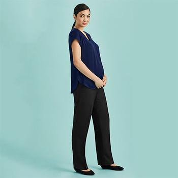 10100 Womens Maternity Pant - Biz Corporates