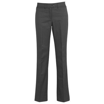 Charcoal - 10111 Womens Relaxed Fit Pant - Biz Corporates