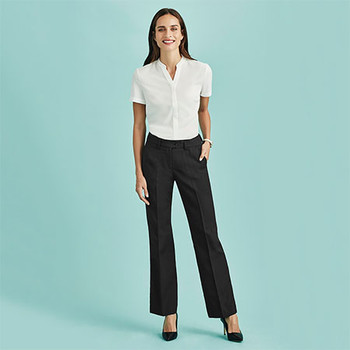 10111 Womens Relaxed Fit Pant - Biz Corporates