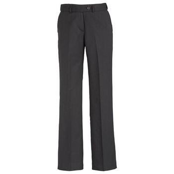 Charcoal - 10115 Womens Adjustable Waist Pant - Biz Corporates