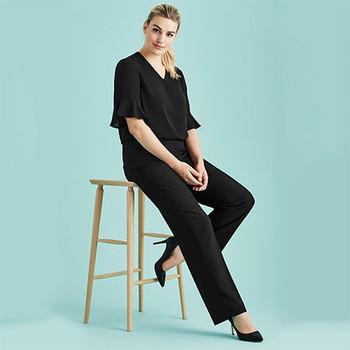 10115 Womens Adjustable Waist Pant - Biz Corporates