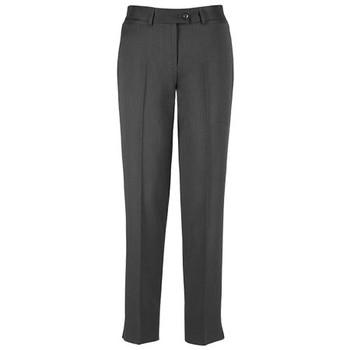 Charcoal - 10117 Womens Slim Leg Pant - Biz Corporates