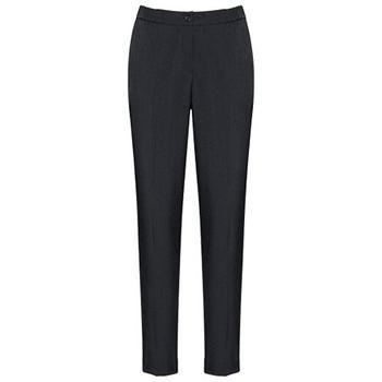 Charcoal - 10123 Womens Ultra Comfort Waist Pant - Biz Corporates