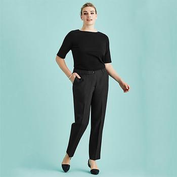 10123 Womens Ultra Comfort Waist Pant - Biz Corporates