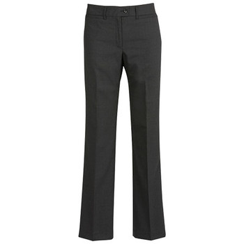 Charcoal - 14011 Womens Relaxed Fit Pant - Biz Corporates