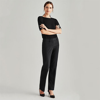 14011 Womens Relaxed Fit Pant - Biz Corporates