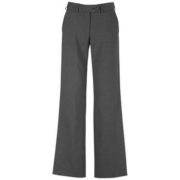 Charcoal - 14015 Womens Adjustable Waist Pant - Biz Corporates