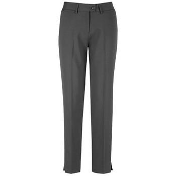 Charcoal - 14017 Womens Slim Leg Pant - Biz Corporates