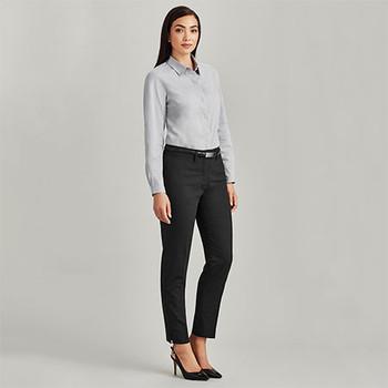 14017 Womens Slim Leg Pant - Biz Corporates