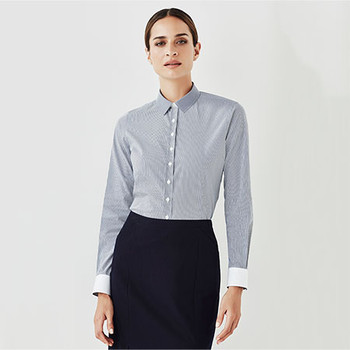 40110 Womens Fifth Avenue Long Sleeve Shirt - Biz Corporates