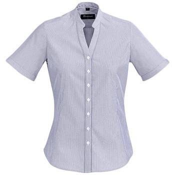 Patriot Blue - 40112 Womens Bordeaux Short Sleeve Shirt - Biz Corporates