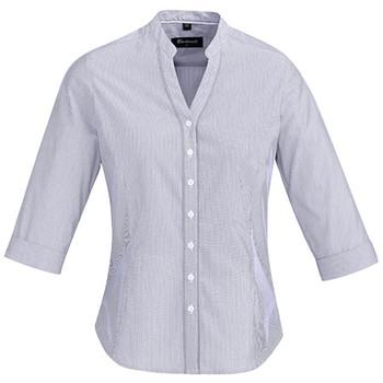 Patriot Blue - 40114 Womens Bordeaux 3/4 Sleeve Shirt - Biz Corporates