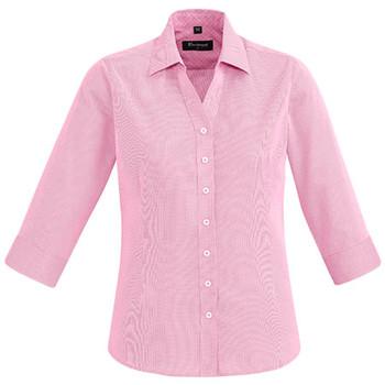 Melon - 40311 Womens Hudson 3/4 Sleeve Shirt - Biz Corporates
