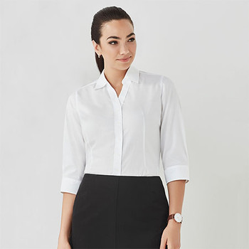 40311 Womens Hudson 3/4 Sleeve Shirt - Biz Corporates
