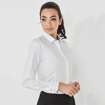 41820 Womens Herne Bay Long Sleeve Shirt - Biz Corporates