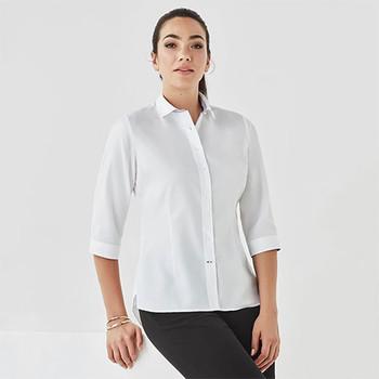 41821 Womens Herne Bay 3/4 Sleeve Shirt - Biz Corporates