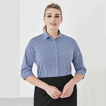 42511 Womens Newport 3/4 Sleeve Shirt - Biz Corporates