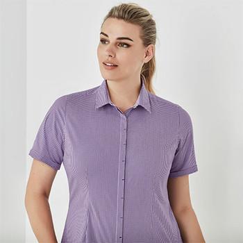 42512 Womens Newport Short Sleeve Shirt - Biz Corporates