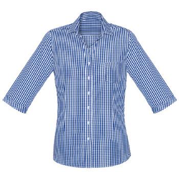 French Navy - 43411 Womens Springfield 3/4 Sleeve Shirt - Biz Corporates