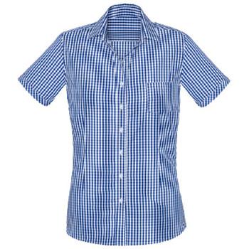 French Navy - 43412 Womens Springfield Short Sleeve Shirt - Biz Corporates