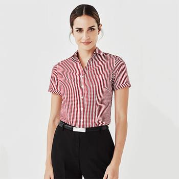 43412 Womens Springfield Short Sleeve Shirt - Biz Corporates