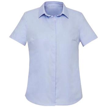 Blue Chambray - RS968LS Womens Charlie S/S Shirt - Biz Corporates