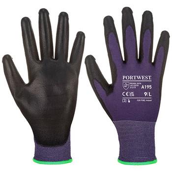 Purple-Black - A195 Touchscreen - PU - Portwest
