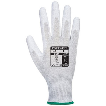 A199 Antistatic PU Palm Glove - Portwest