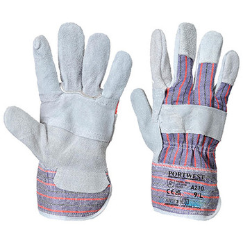 Grey - A210 Canadian Cotton Back Glove - Portwest