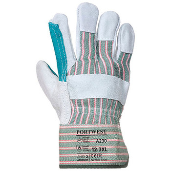 A230 Double Palm Cotton Back Glove - Portwest