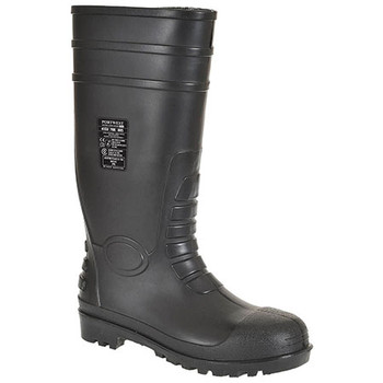 Black - FW95 Total Safety Gumboot S5 - Portwest
