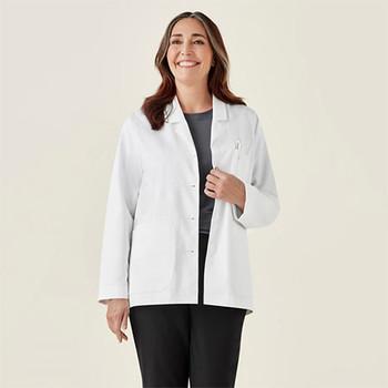CC144LC Womens Hope Cropped Lab Coat - Biz Care