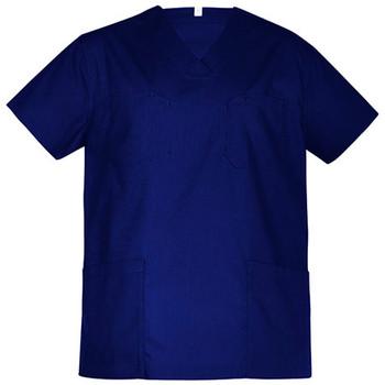 Dark Blue - CST150US Unisex Hartwell Reversible Scrub Top - Biz Care