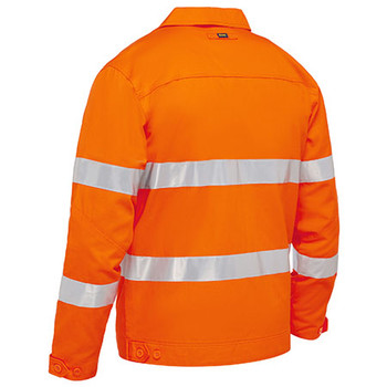 BJ6919T Taped Hi Vis Drill Jacket with Liquid Repellent Finish - Bisley