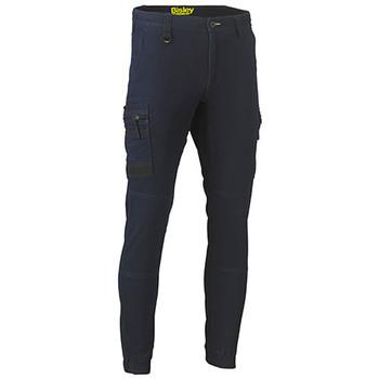Denim - BPC6335 Flex and Move Stretch Denim Cargo Cuffed Pants - Bisley