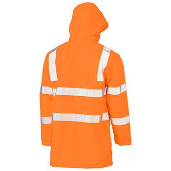 BJ6964T Taped Hi Vis Rail Wet Weather Jacket - Bisley