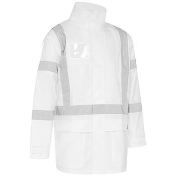 White - BJ6968XT X Taped Shell Rain Jacket - Bisley