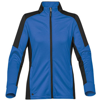 Azure Blue-Black - JLX-1W Womens Chakra Fleece Jacket - STORMTECH