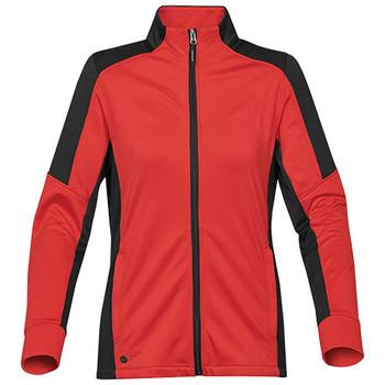 Bright Red-Black - JLX-1W Womens Chakra Fleece Jacket - STORMTECH