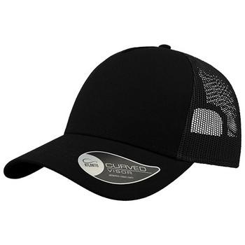 Black-Black - A2650 Rapper Cotton - Atlantis Headwear