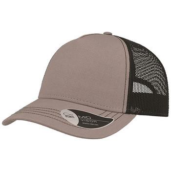 Grey-Black - A2600 Rapper Canvas - Atlantis Headwear