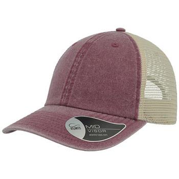 Burgundy-Stone - A2100 Case Trucker - Atlantis Headwear