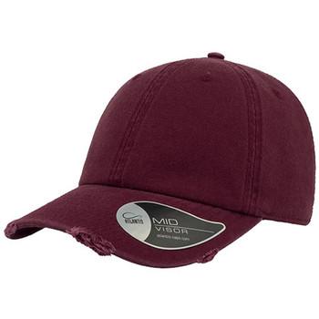 Burgundy - A1020 Dad Hat Destroyed - Atlantis Headwear