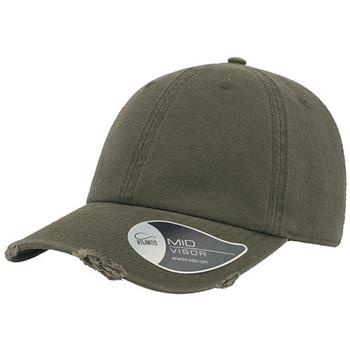 Olive - A1020 Dad Hat Destroyed - Atlantis Headwear