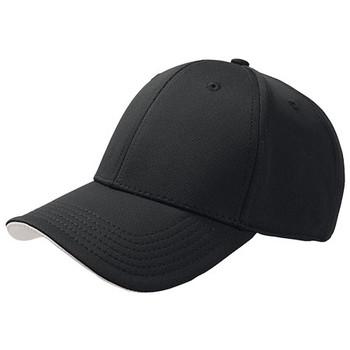 Black-Grey - A1350 Green House Cap - Atlantis Headwear