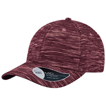 Burgundy Melange - A1450 Mash-Up Cap - Atlantis Headwear
