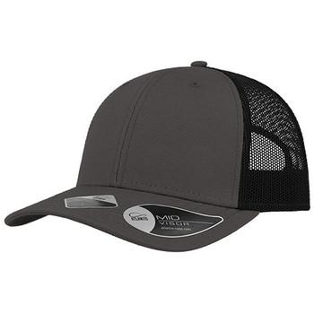 Dark Grey-Black - A5300 Recy Three Cap - Atlantis Headwear