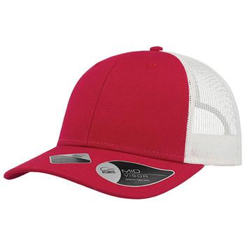Red-White - A5300 Recy Three Cap - Atlantis Headwear
